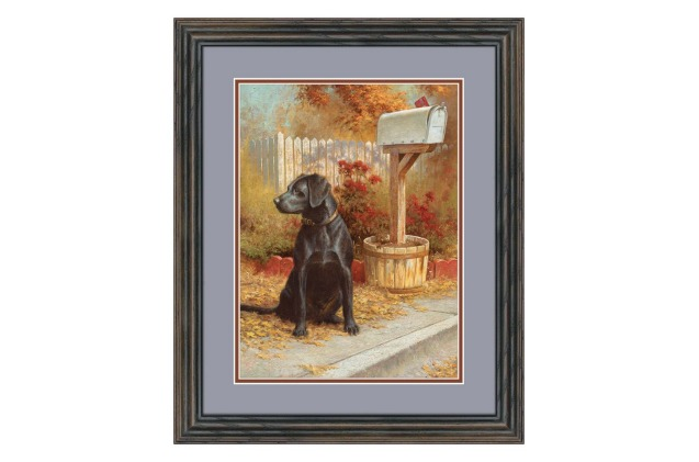Lambson's Mail call is a great labrador retriever decor gift