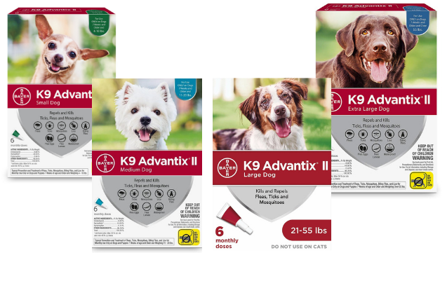 Top 10 Mosquito Repellents for Dogs: K9 Advantix II Spot On Treatment